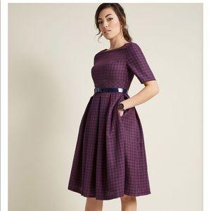 Vintage Plaid Dress from ModCloth